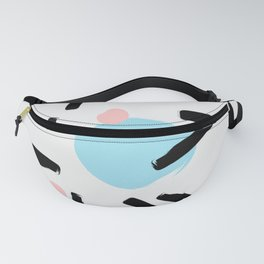 Colo pop circles Fanny Pack