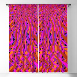 rise and fall Blackout Curtain
