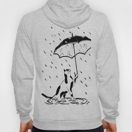 Cat umbrella  Hoody