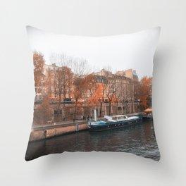 Paris In Fall Throw Pillow