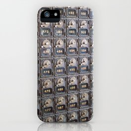 When Mail had Meaning iPhone Case