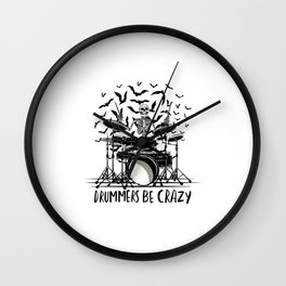 Best gift for Drummers Wall Clock