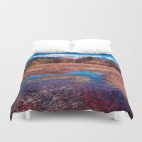 rustic Duvet Covers featuring Rustic by Jonah Anderson
