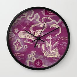 Pirate's Cove Wall Clock