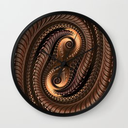 Chocolate Delight Wall Clock