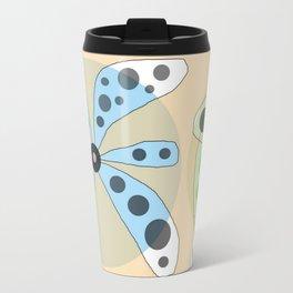 FLOWERY KATE / ORIGINAL DANISH DESIGN bykazandholly Travel Mug