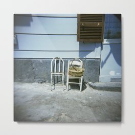 Lonely Chairs #3 Metal Print