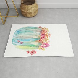 Cactus of Many Colors Rug