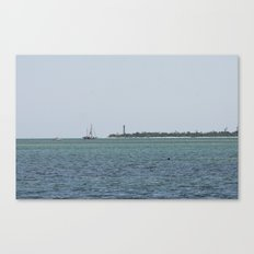 Just another day at the beach  Canvas Print