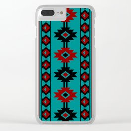 Indian Designs 237 Clear iPhone Case