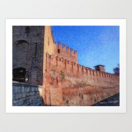 OldCastle Verona Art Print