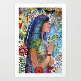Be Love Art Print