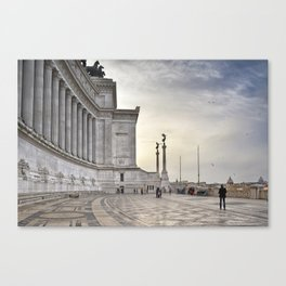 Vittoriano Canvas Print