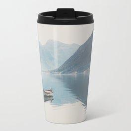 boat reflections ... Travel Mug