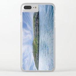 Puffin Island Clear iPhone Case