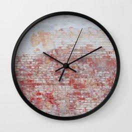 Cute Bricks Wall Clock
