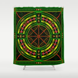 Bear Medicine Shower Curtain