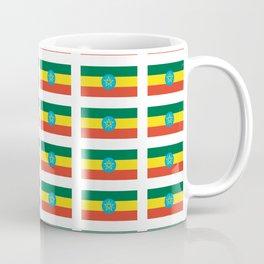 flag of Ethiopia 2-ኢትዮጵያ, የኢትዮጵያ ,Amharic,  Ethiopian, Addis Ababa. Coffee Mug