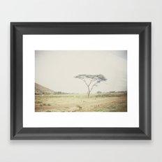 faded::kenya Framed Art Print