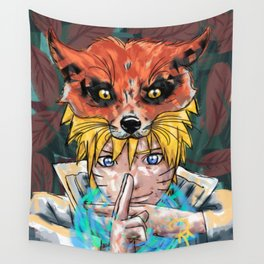 Naruto Abstract Wall Tapestry