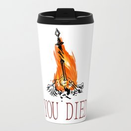 You Died dark Souls III Travel Mug