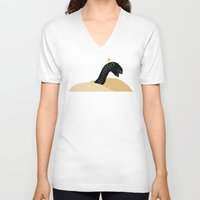 dune V-neck T-shirts featuring Dune by FilmsQuiz