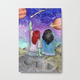 stars <3 Metal Print