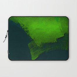 brush stroke aquamarine Laptop Sleeve