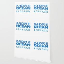 More Ocean Less Plastic Wallpaper