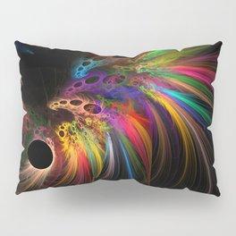 Rainbow rhinoceros Pillow Sham