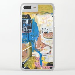 Dead Funnel Clear iPhone Case
