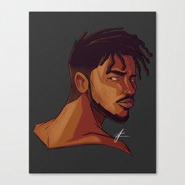 Erik Killmonger Canvas Print