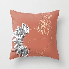 who's da boss Throw Pillow
