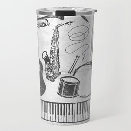 Weapons Of Mass Creation - Music (on paper) Travel Mug