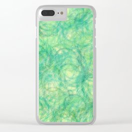 Spring Sprung Clear iPhone Case