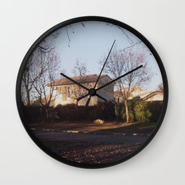 On the Road 2 Wall Clock