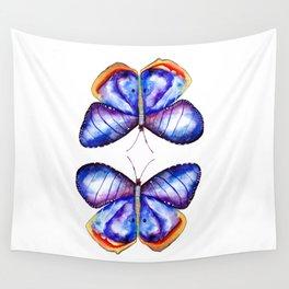 Purple Butterflies  Wall Tapestry