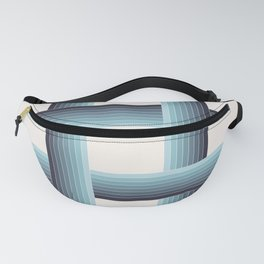 LOOPS - Phthalo Turquoise Fanny Pack