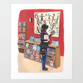 Feminist and Book Culture Art Print
