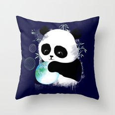 A CREATIVE DAY Throw Pillow