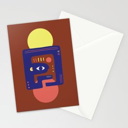 Mother Earth - Minimal Modern Mid-Century Snake Stationery Cards