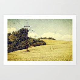 Early summer Art Print