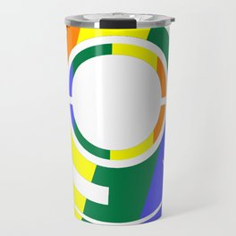 Ghost in the Rainbow Travel Mug
