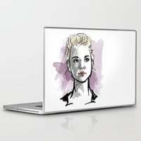 moriarty Laptop & iPad Skins featuring elementary: jamie moriarty by roanne Q