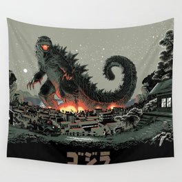 Godzilla - Gray Edition Wall Tapestry