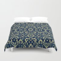 mosaic Duvet Covers featuring Mosaic by SimplyChic