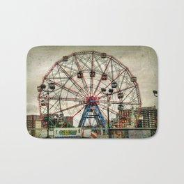 Coney Island Wonder Wheel Bath Mat