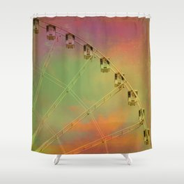 Travel Dreams Shower Curtain