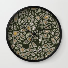 Abstract CMR 03 on VB Wall Clock