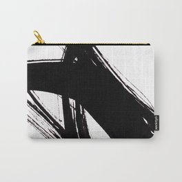 Abstract Wall art, Abstract Print, Black White Abstract Print, Black White Art, Minimalist Print, Ab Carry-All Pouch